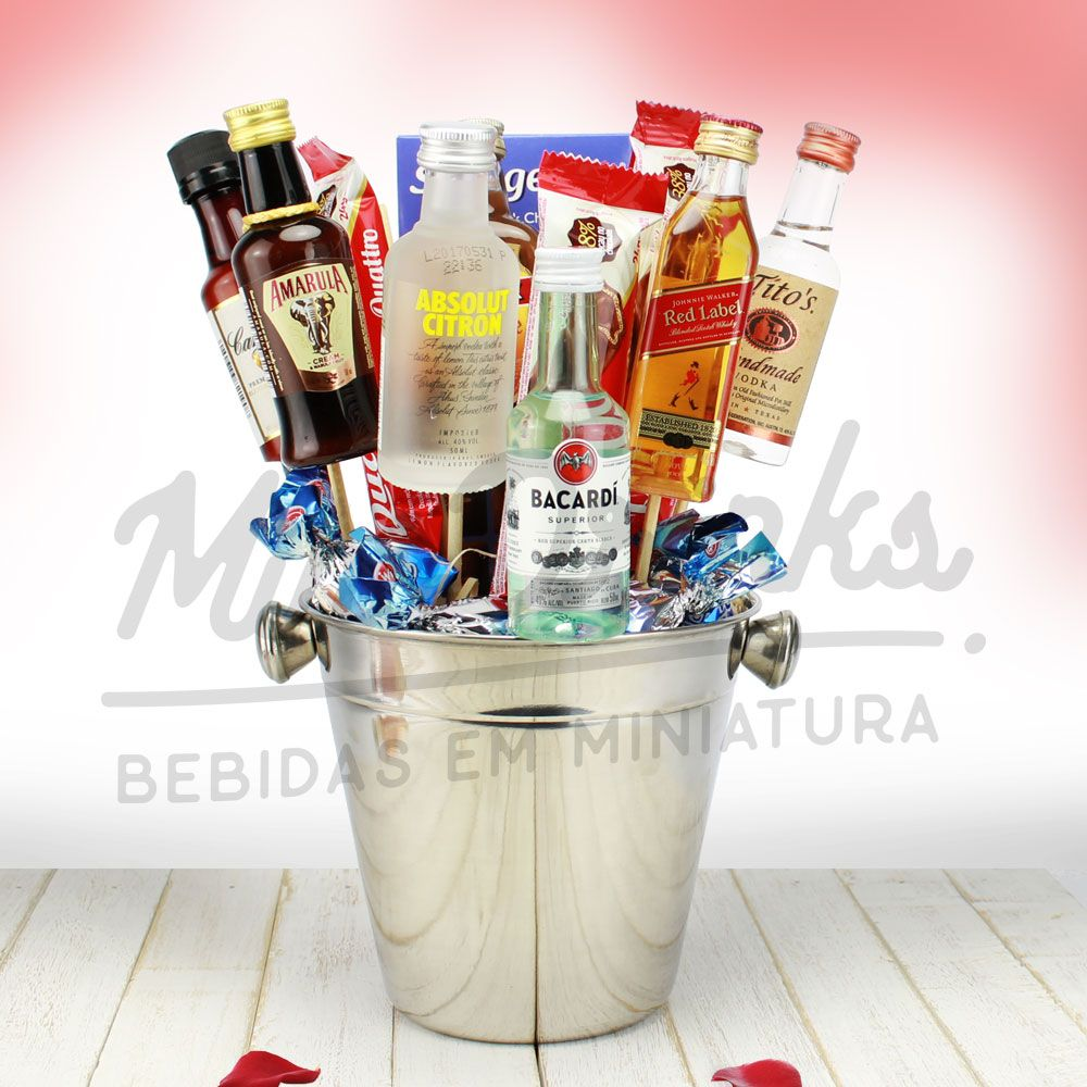Kit Buquê Premium Minidrinks