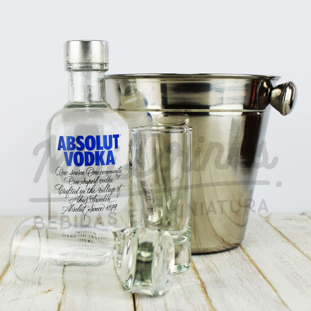 Kit Double Shot Absolut