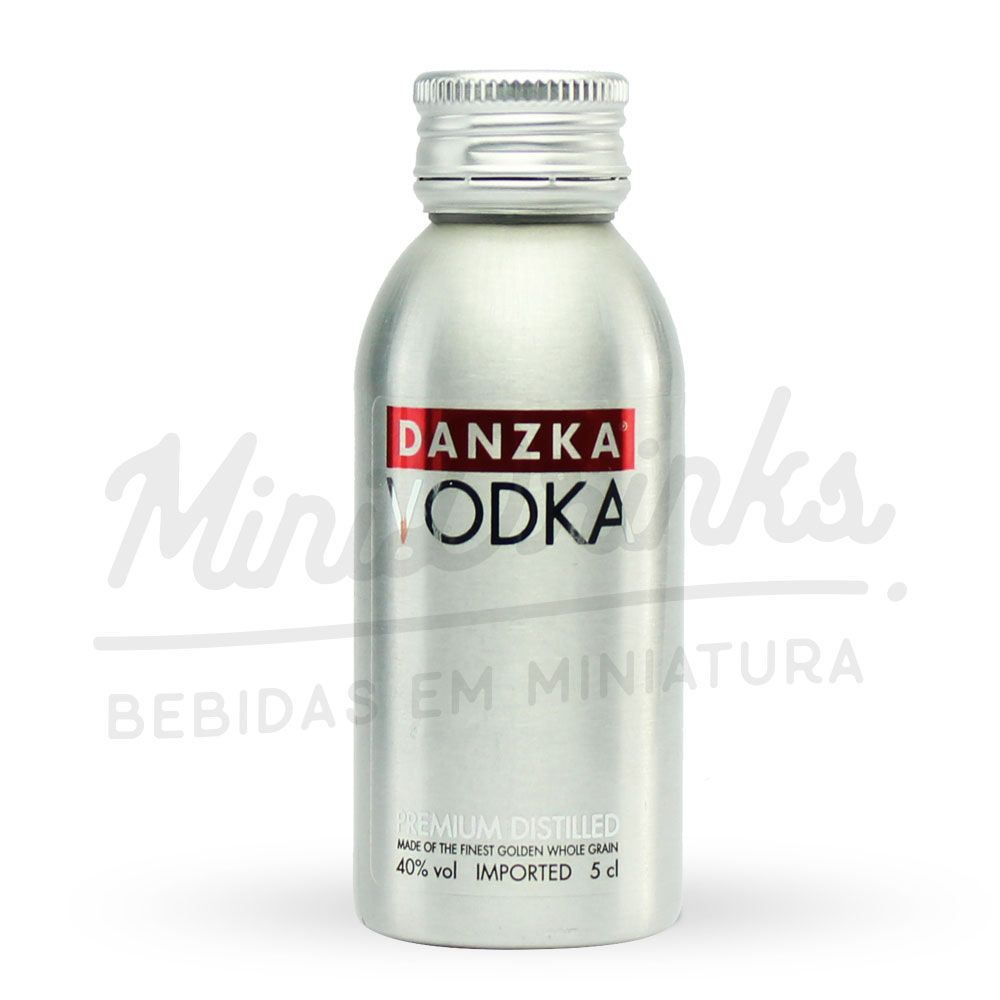 Kit Minipack Vodka Danzka 4x50ml