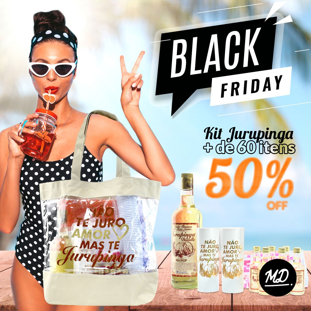 Kit Verão Jurupinga [BLACK FRIDAY]