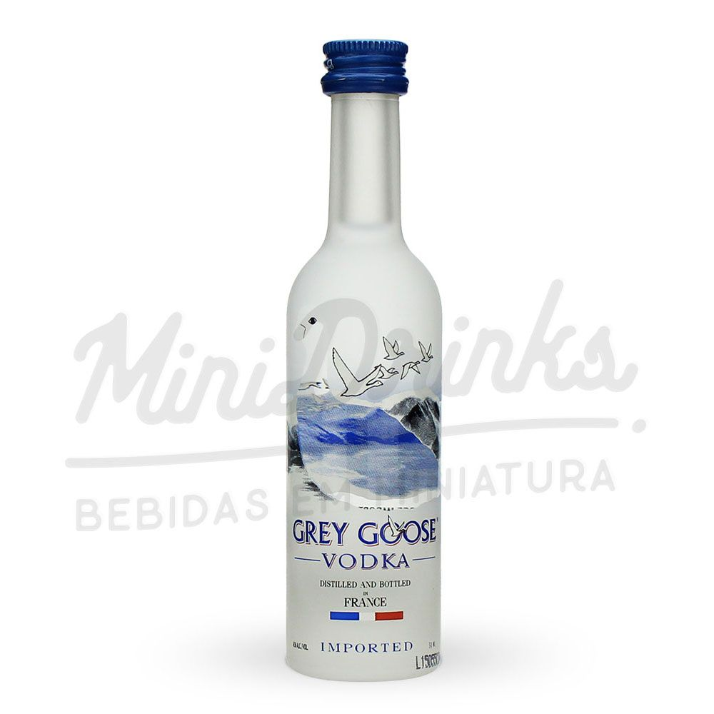 Kit Vodka Grey Goose La Collection 5x50ml