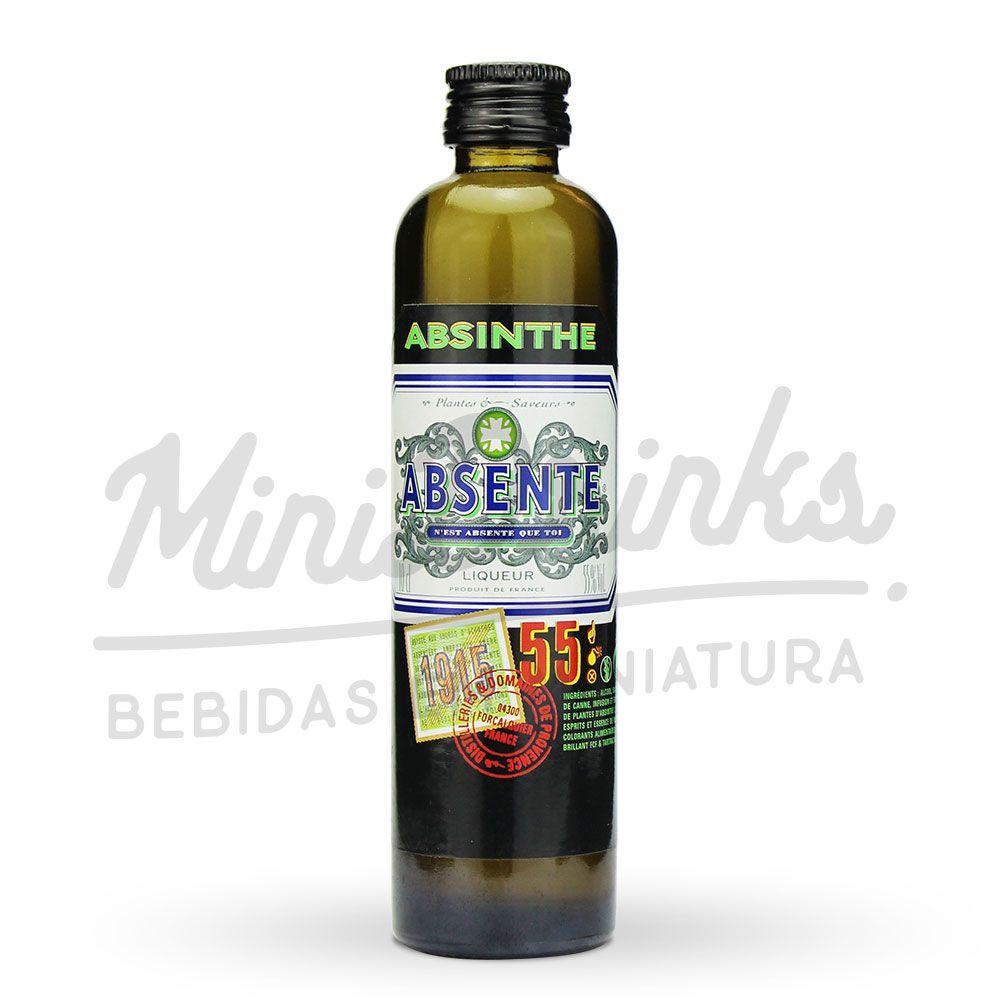 Mini Absinto Absente 55% 100ml