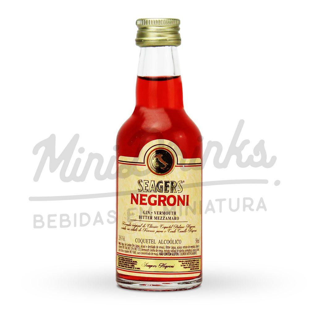 Mini Aperitivo Seagers Negroni 50ml