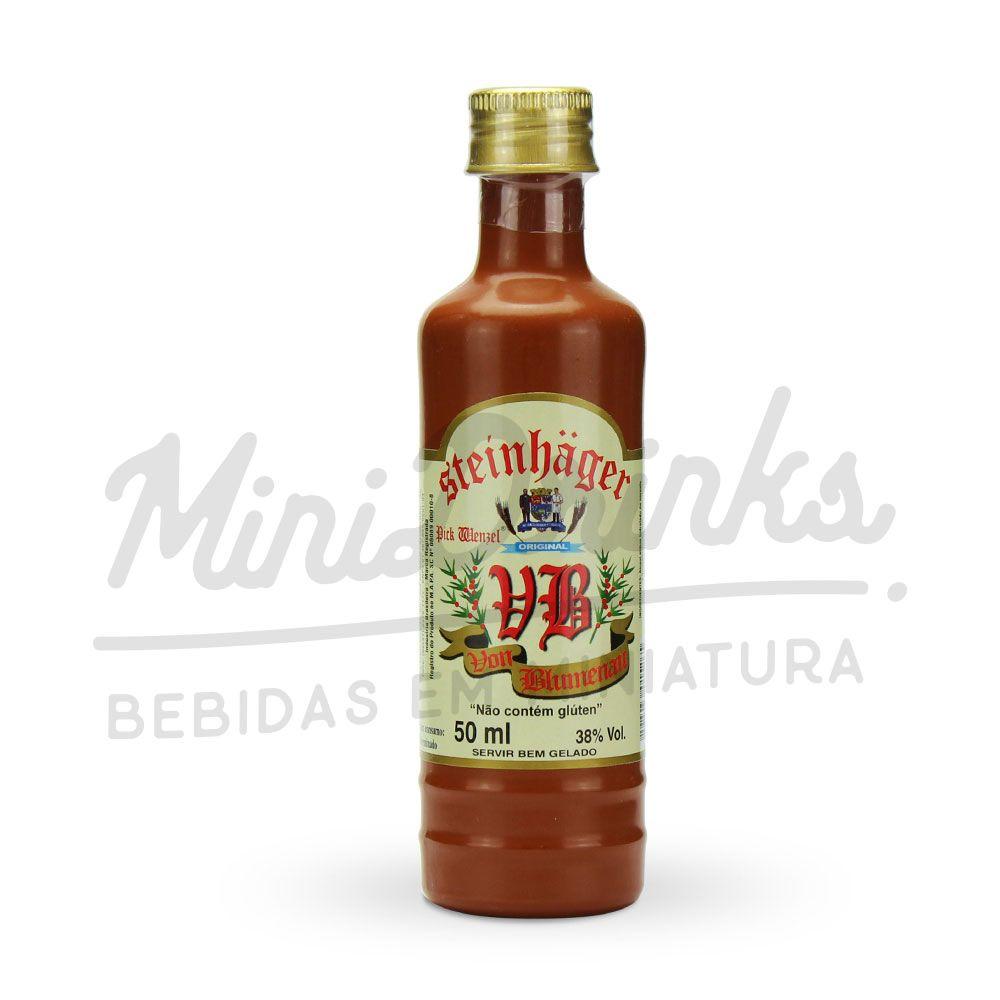 Mini Aperitivo Steinhaeger Von Blumenau 50ml