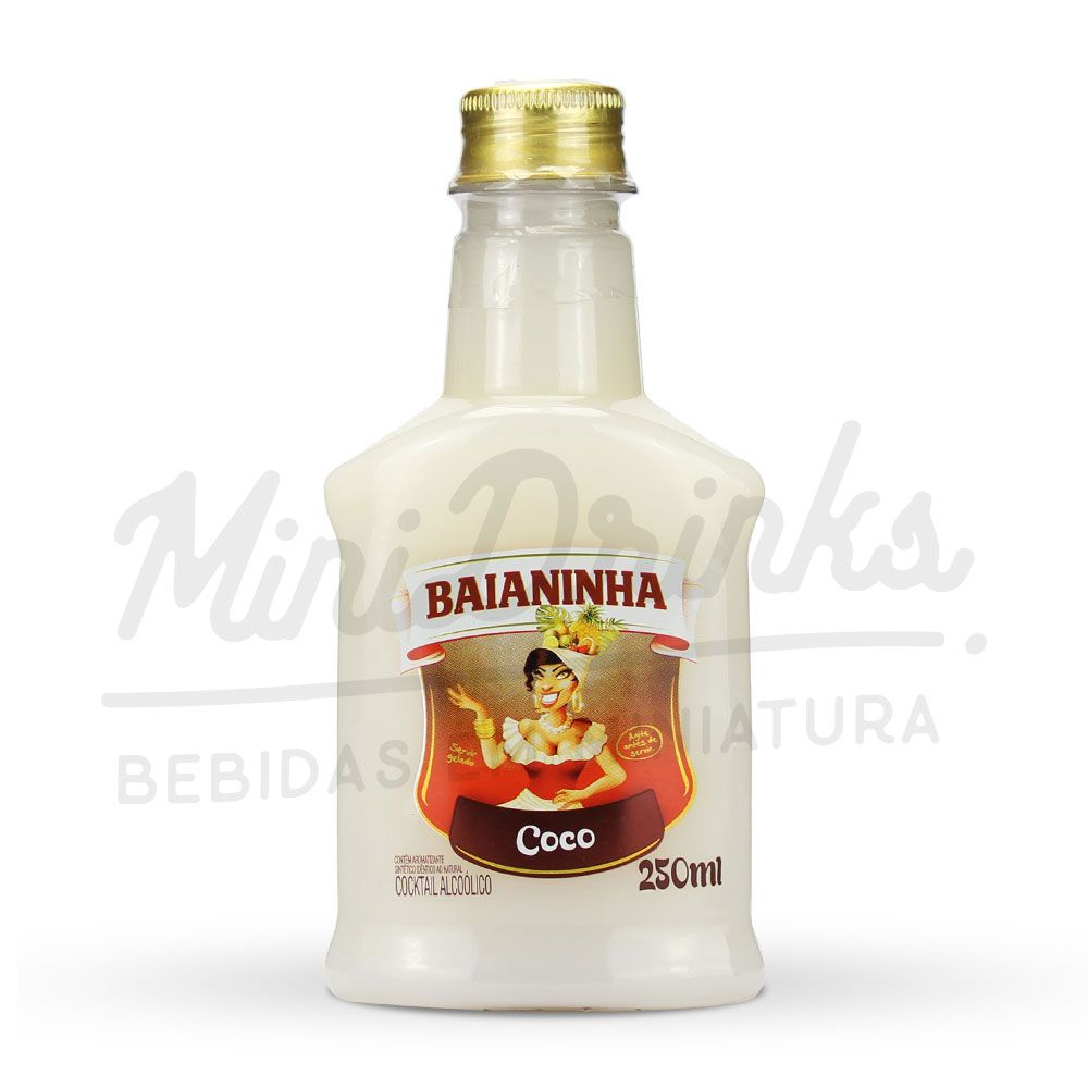 Mini Batida Baianinha Coco Petaca 250ml