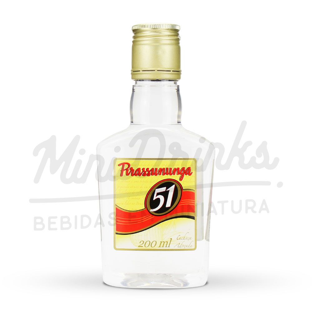 Mini Cachaça 51 200ml