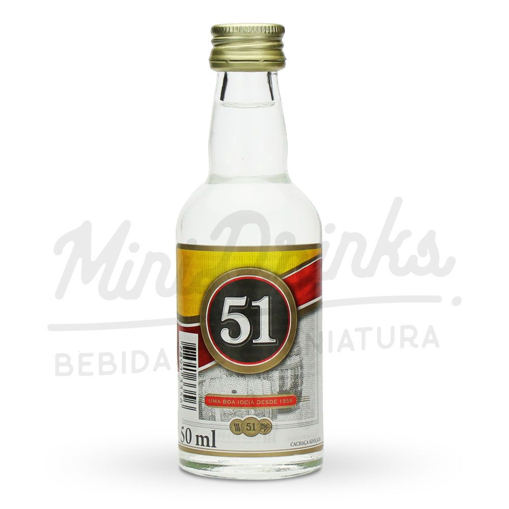 Mini Cachaça 51 50ml