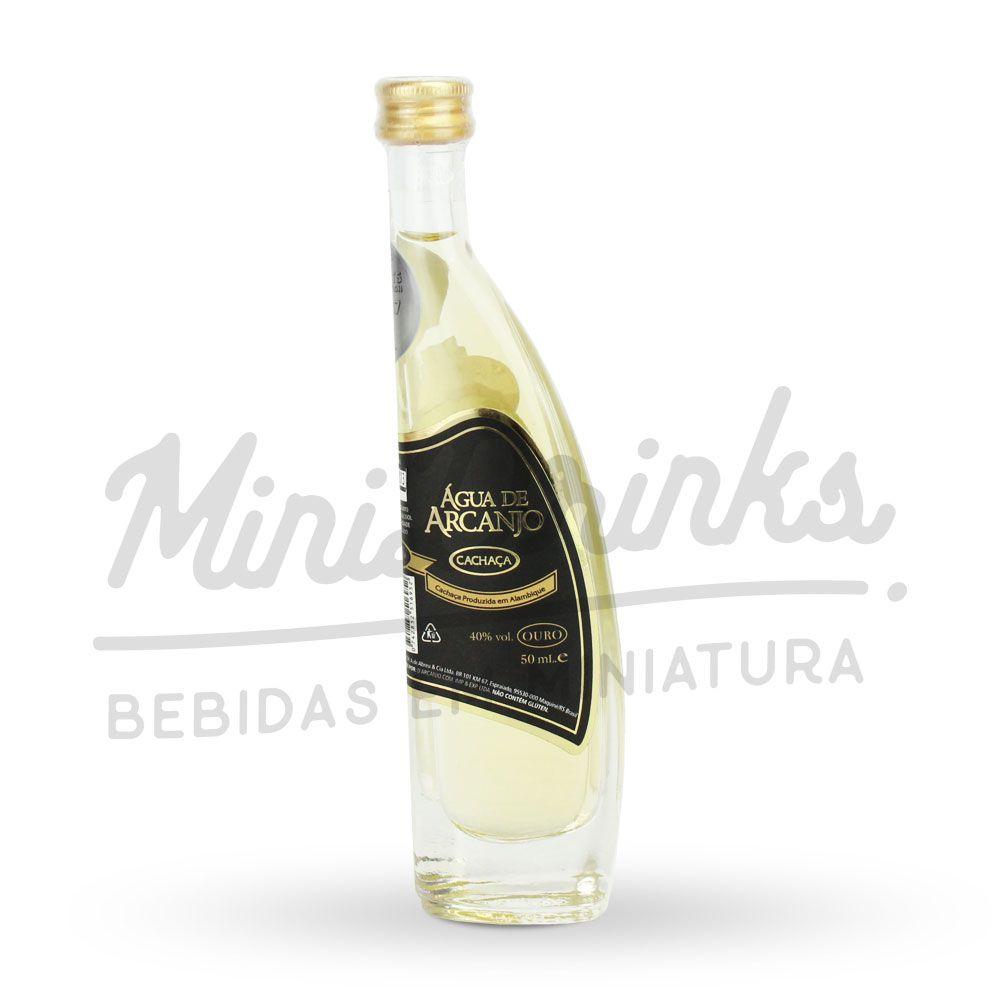Mini Cachaça Água de Arcanjo Ouro 50ml
