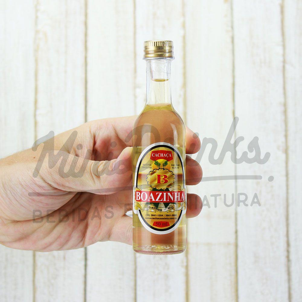 Mini Cachaça Boazinha 50ml