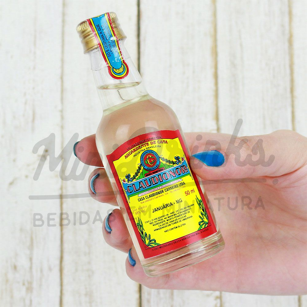Mini Cachaça Claudionor 50ml