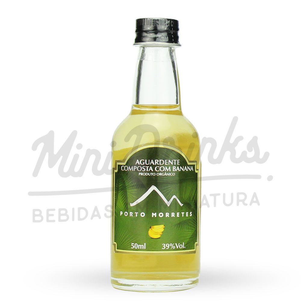 Mini Cachaça Porto Morretes Banana 50ml