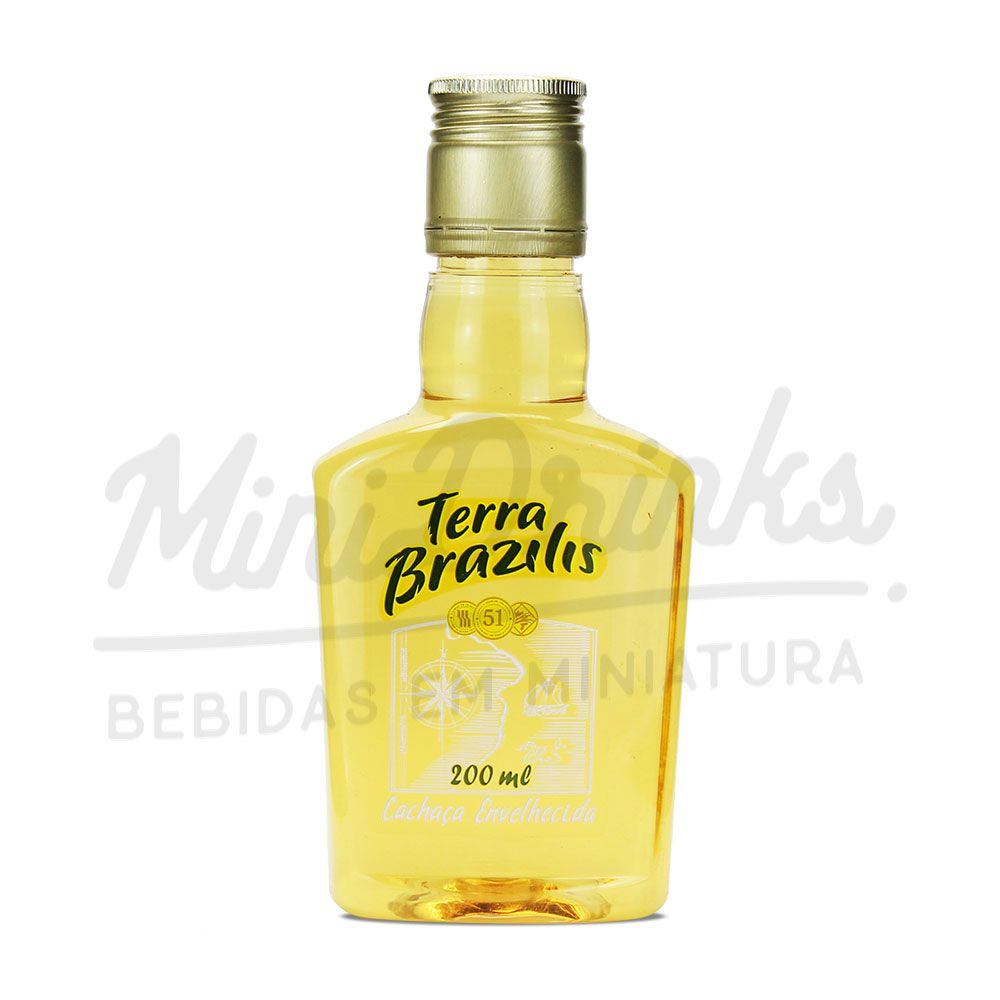 Mini Cachaça Terra Brazilis 200ml
