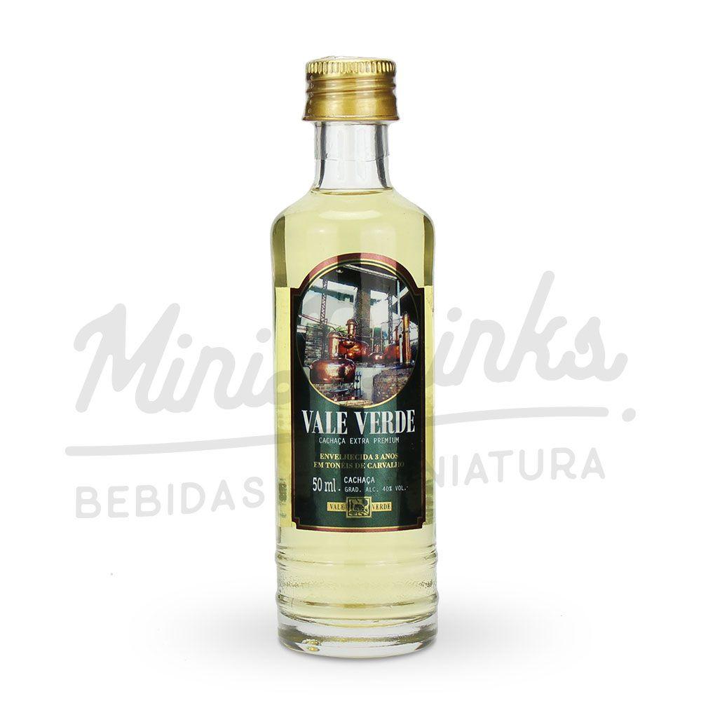 Mini Cachaça Vale Verde Extra Premium 50ml