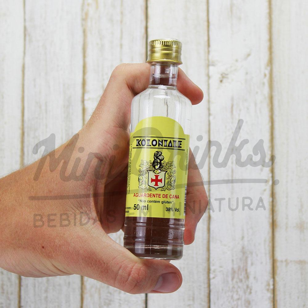 Mini Cachaça Von Blumenau Koloniale Branca 50 ml