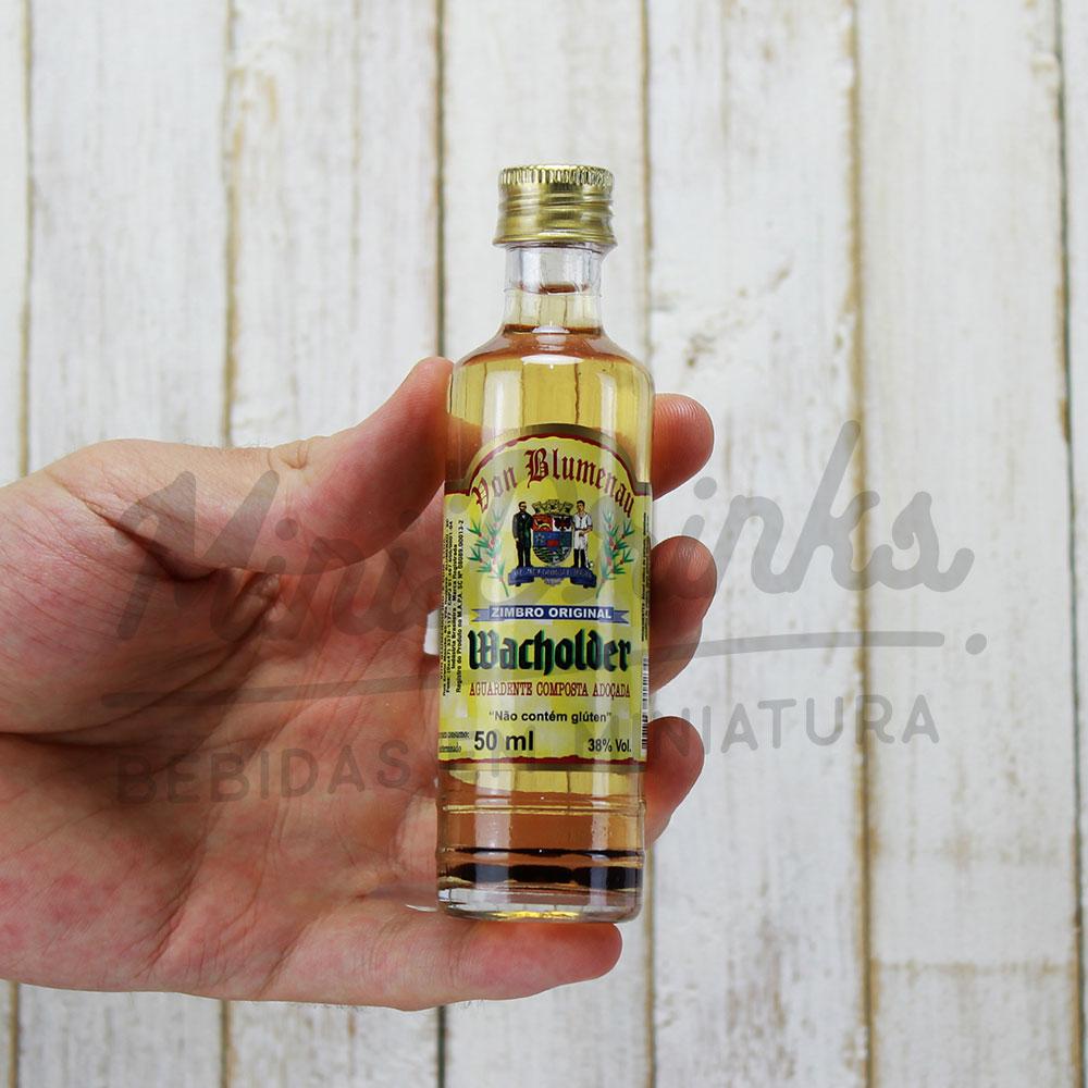 Mini Cachaça Von Blumenau Wacholder 50 ml