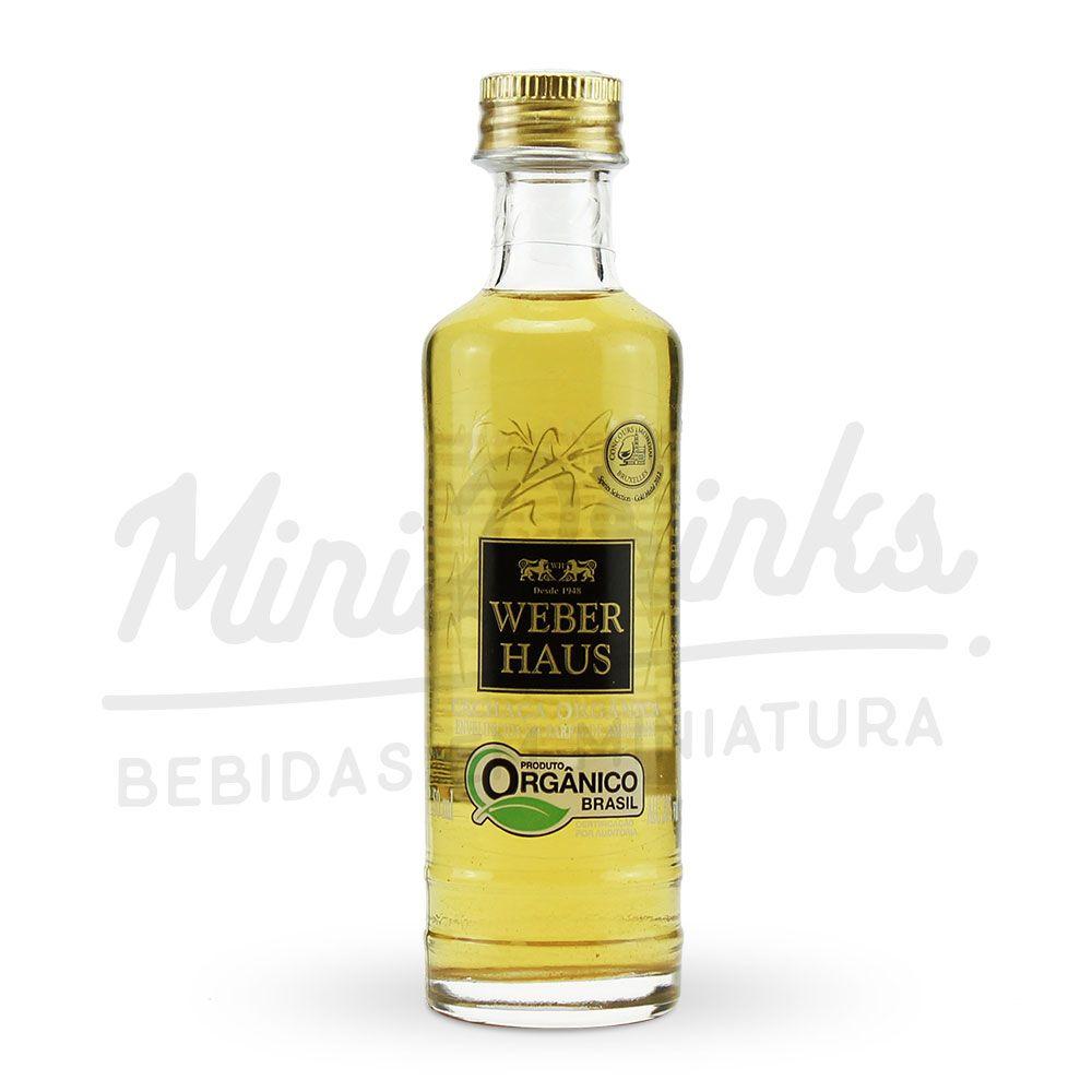 Mini Cachaça Weber Haus Amburana Orgânica 50ml