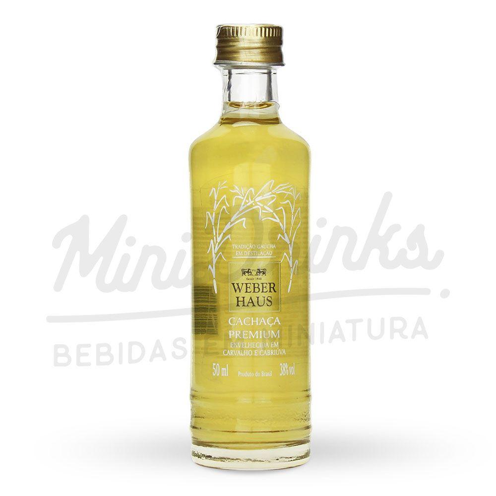 Mini Cachaça Weber Haus Premium 50ml