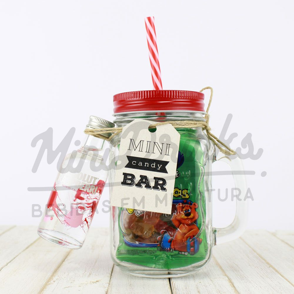 Mini Candy Bar Gummy Bears Alcoólicos