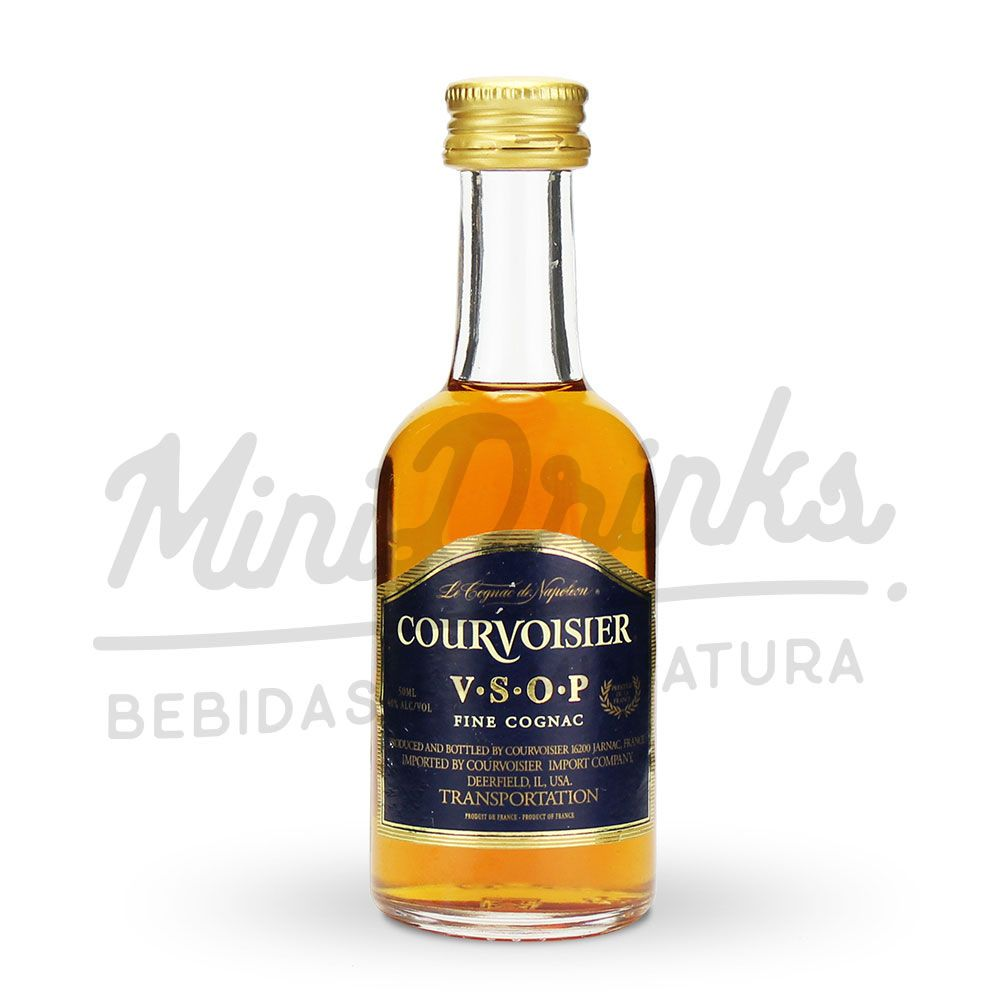 Mini Conhaque Courvoursier 50ml