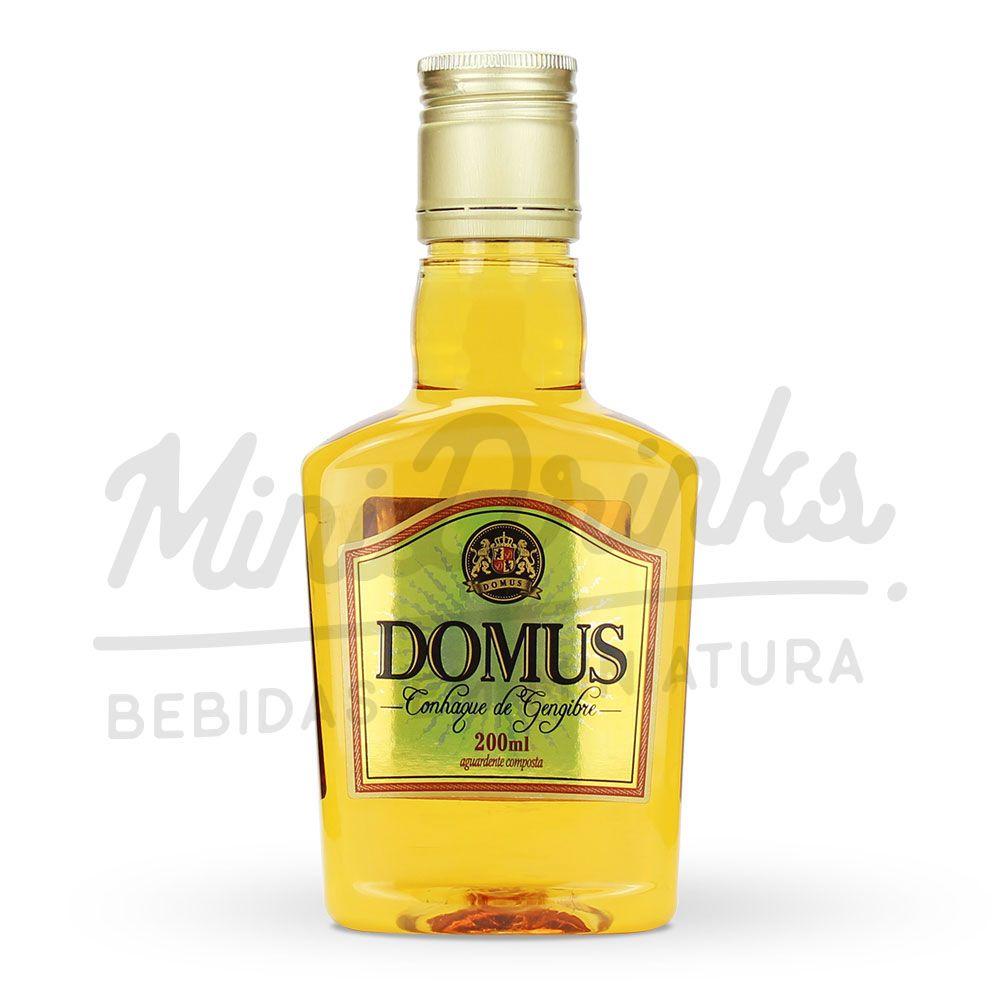 Mini Conhaque Domus Petaca 200ml
