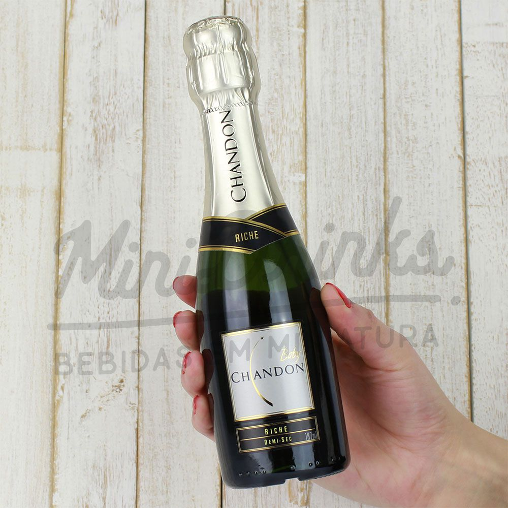 Mini Espumante Chandon Baby Demi Sec 187ml