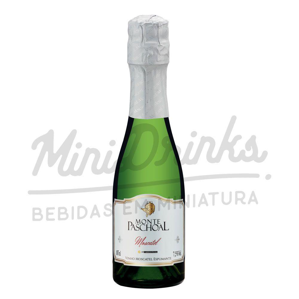 Mini Espumante Monte Paschoal Moscatel 187ml