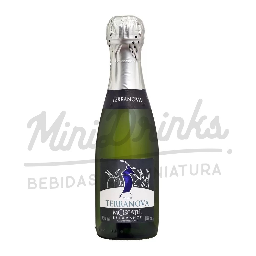 Mini Espumante Terra Nova Moscatel 187ml