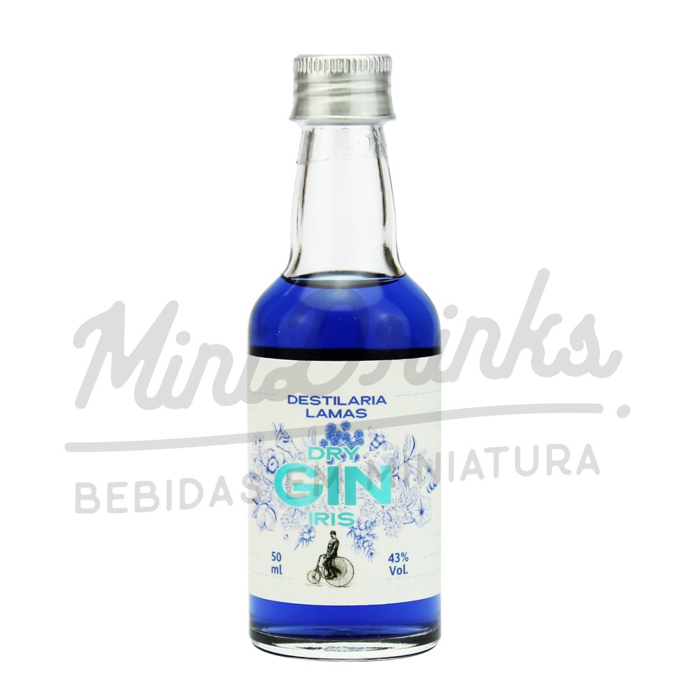 Mini Gin Lamas Iris 50ml