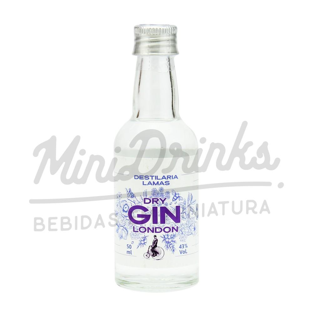 Mini Gin Lamas London Dry 50ml