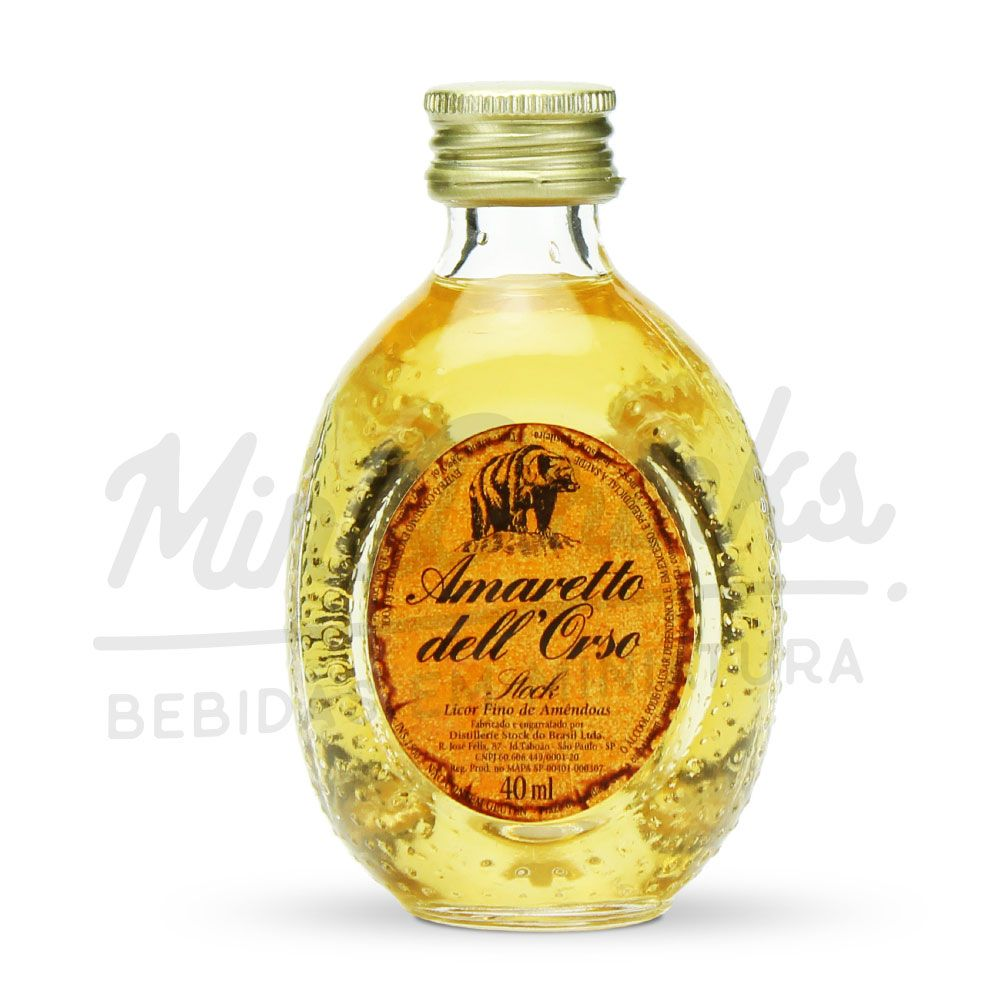 Mini Licor Stock Amaretto Del Orso 40ml