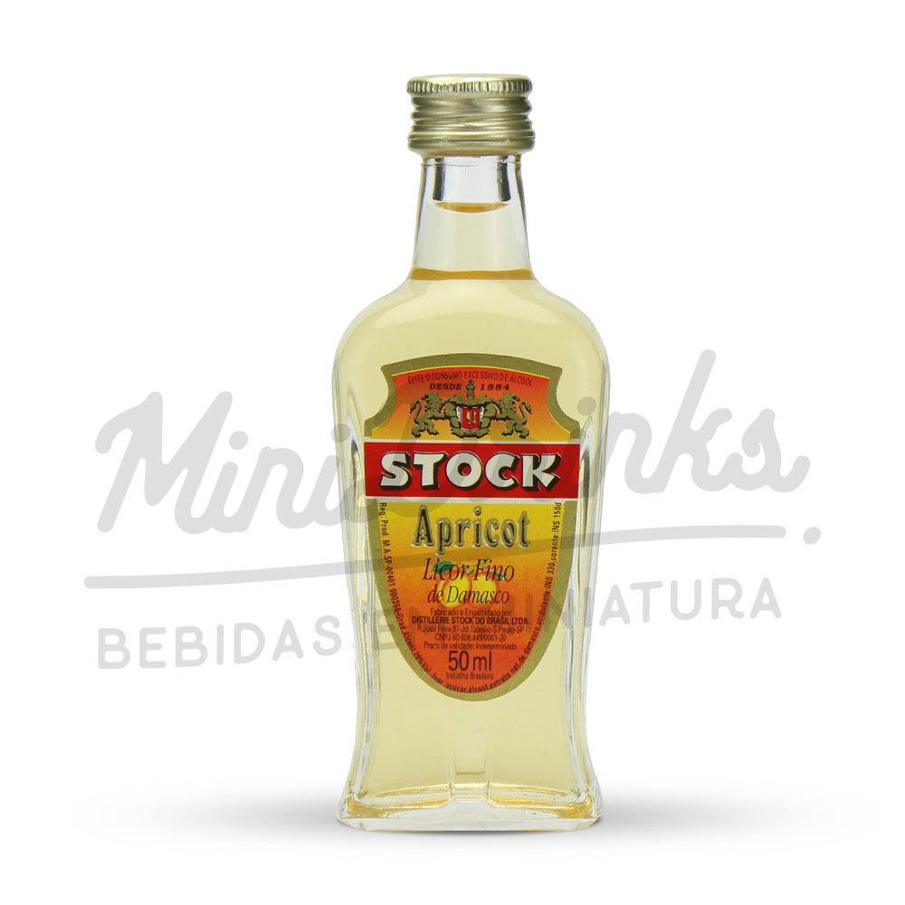 Mini Licor Stock Apricot 50ml