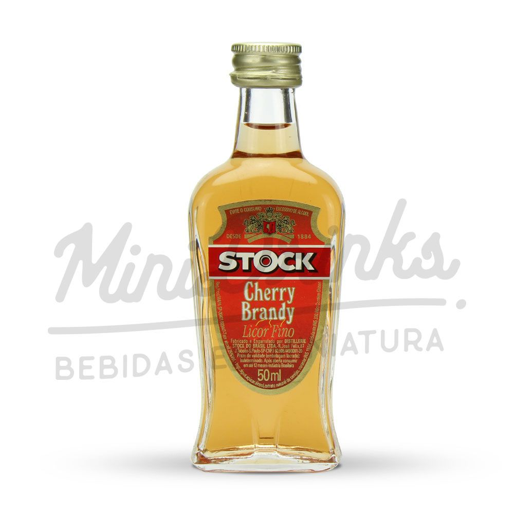 Mini Licor Stock Cherry Brandy 50ml