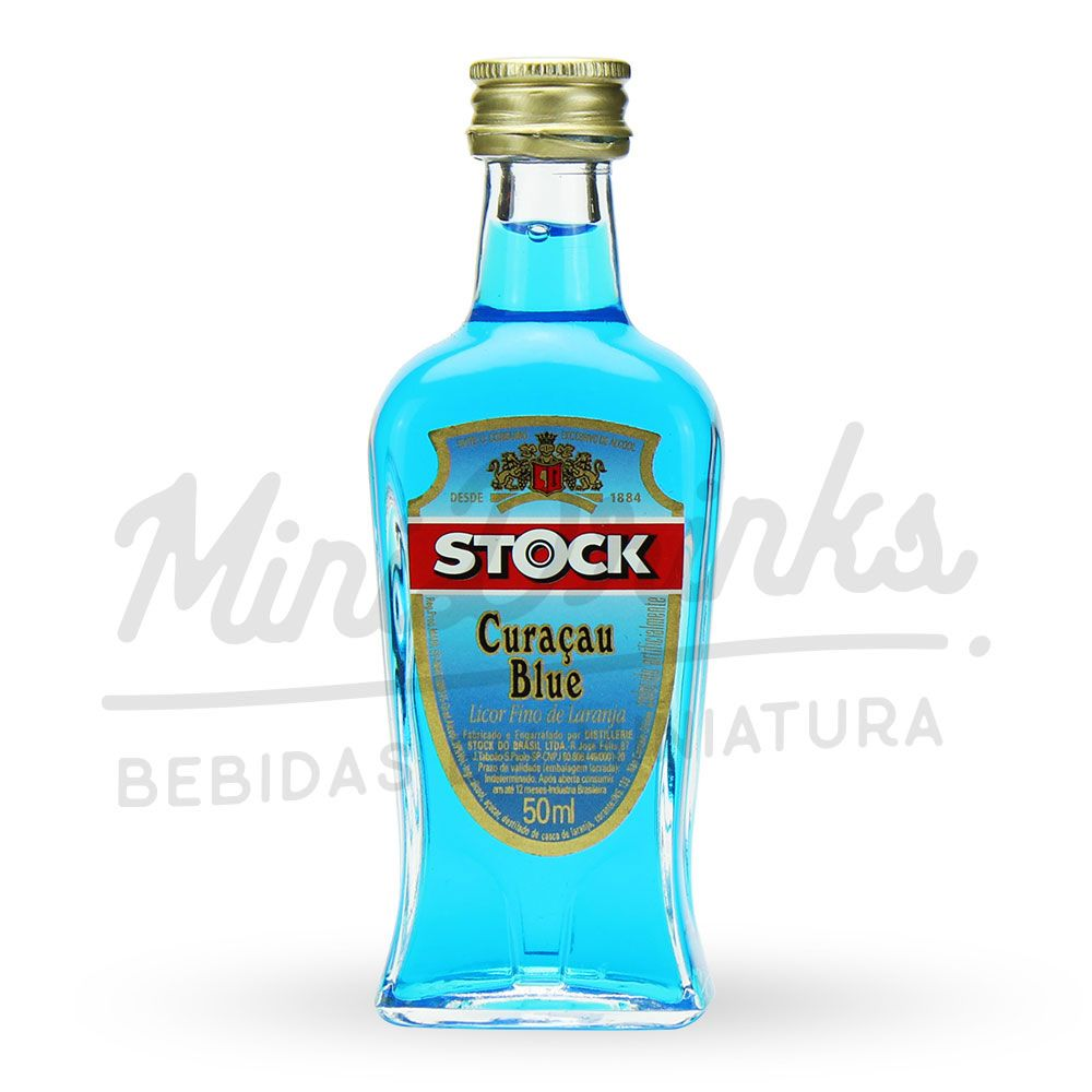 Mini Licor Stock Curaçau Blue 50ml