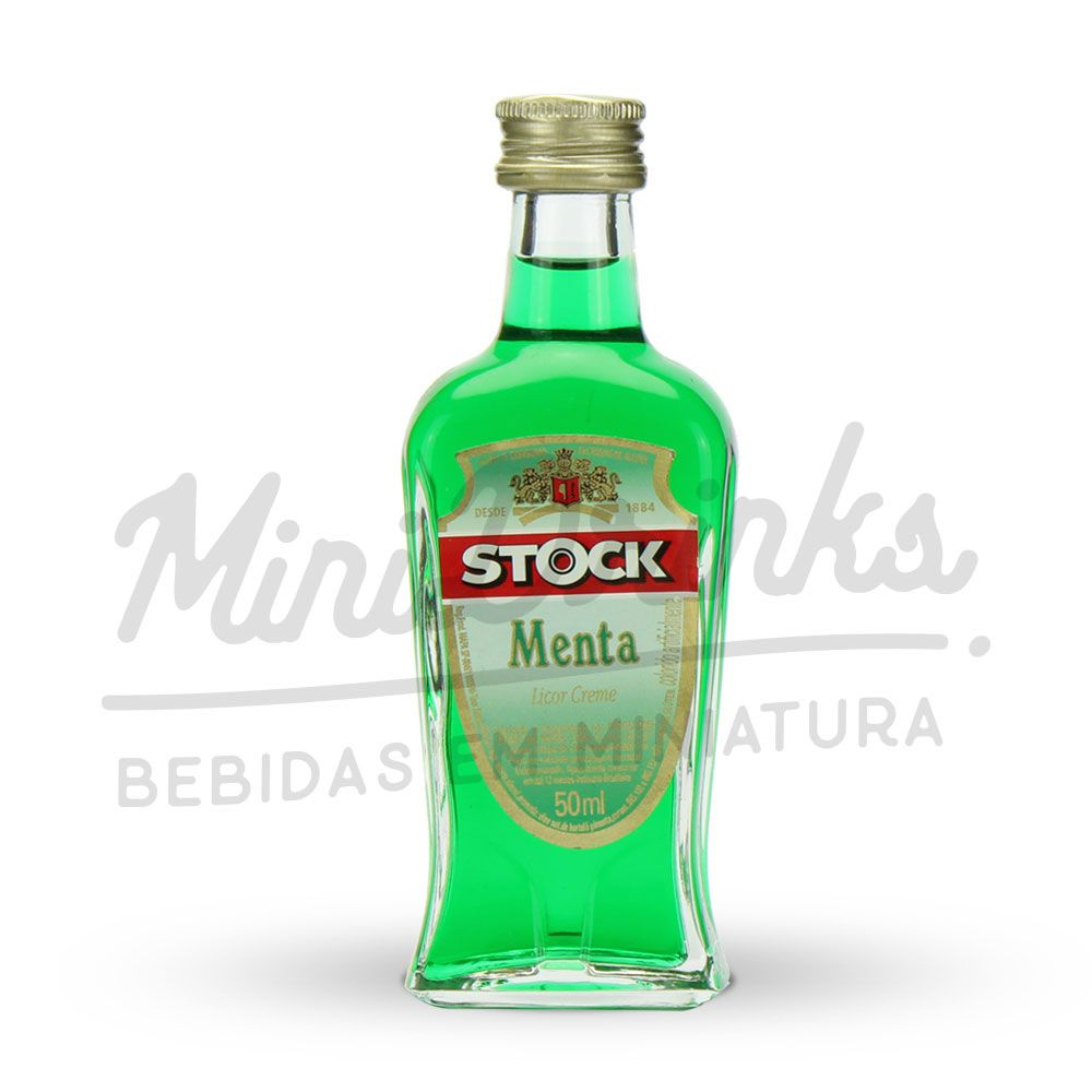 Mini Licor Stock Menta 50ml