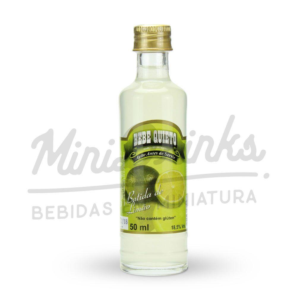 Mini Licor Von Blumenau Batida de Limão 50ml