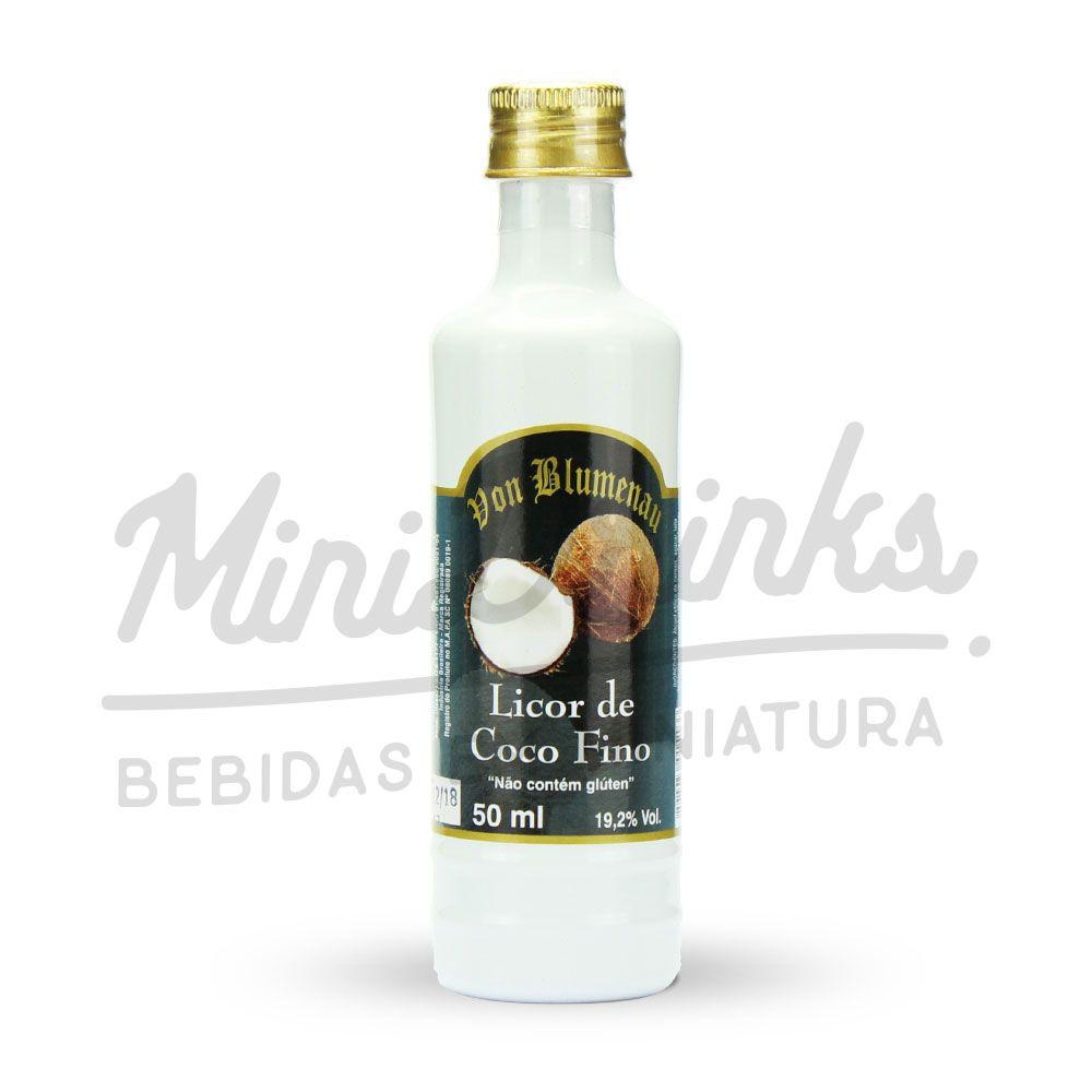Mini Licor Von Blumenau Coco 50ml