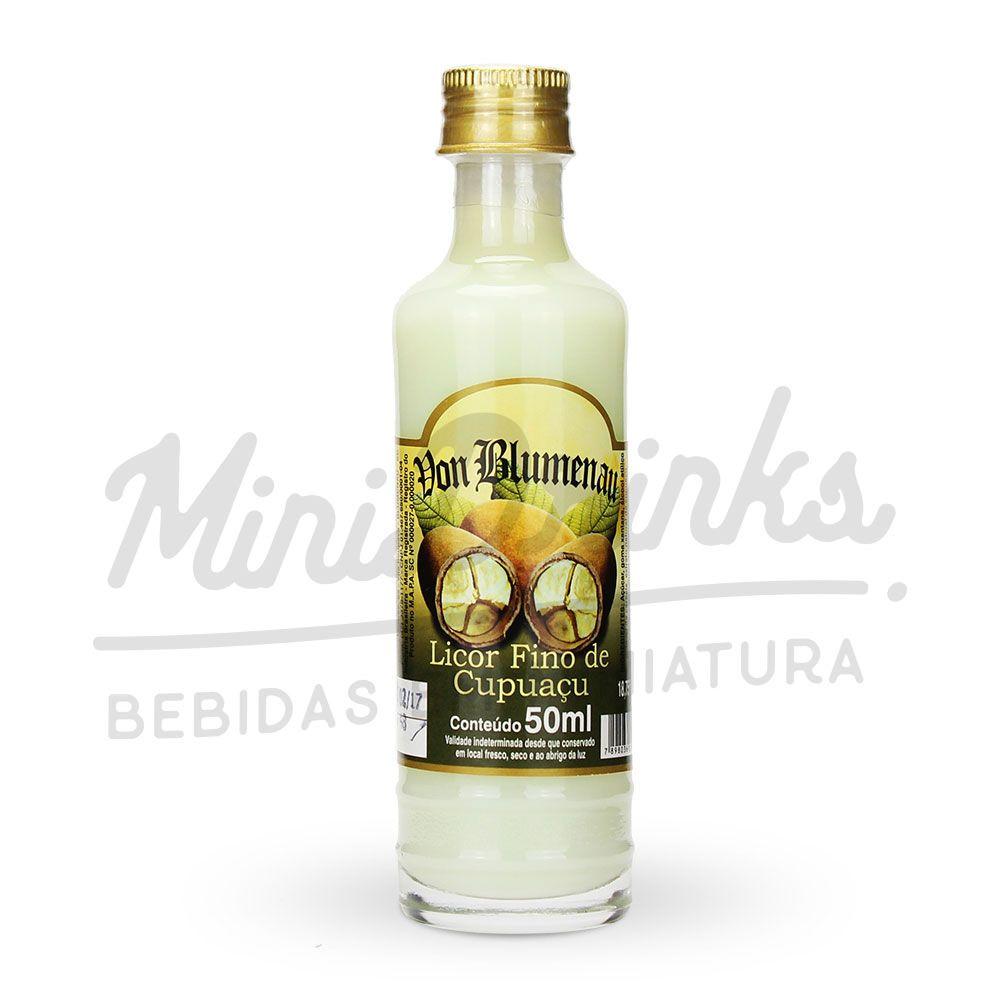 Mini Licor Von Blumenau Cupuaçu 50ml