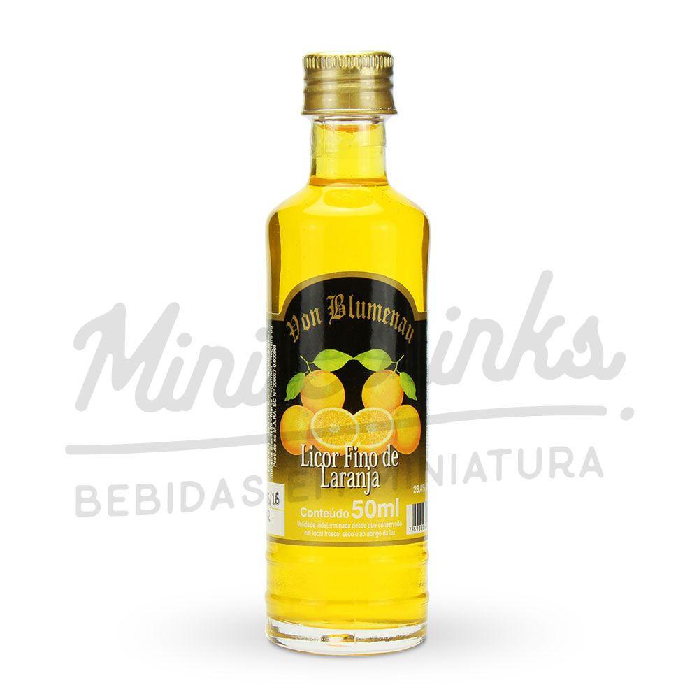 Mini Licor Von Blumenau Laranja 50ml