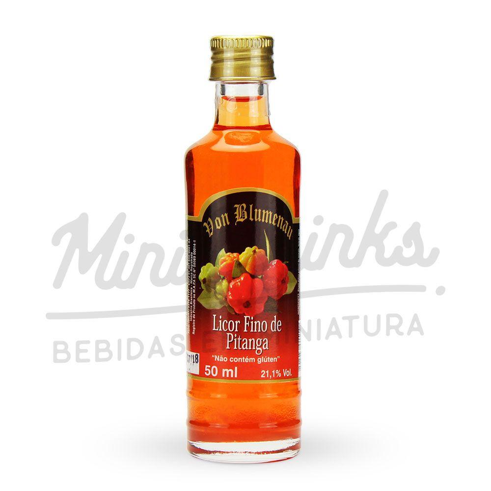 Mini Licor Von Blumenau Pitanga 50ml
