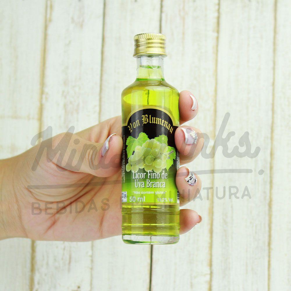 Mini Licor Von Blumenau Uva Branca 50ml