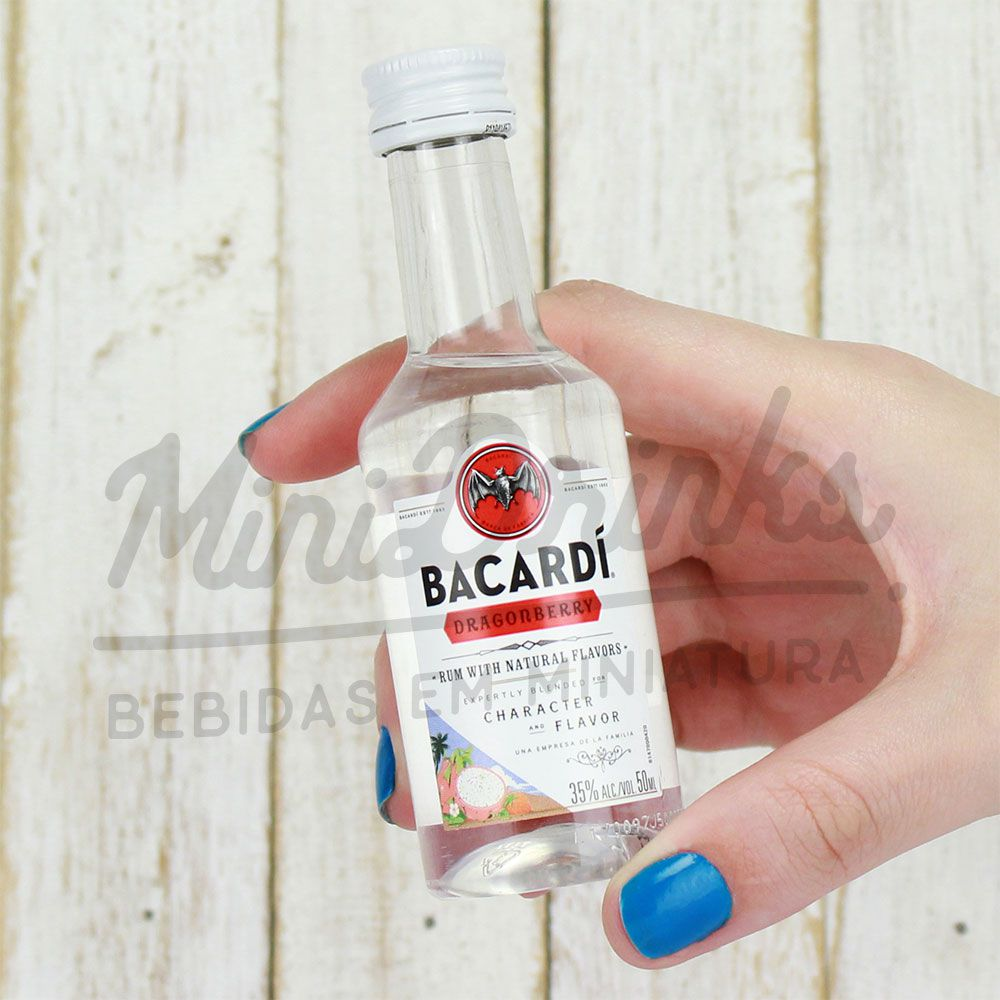 Mini Rum Bacardi Dragon Berry 50ml