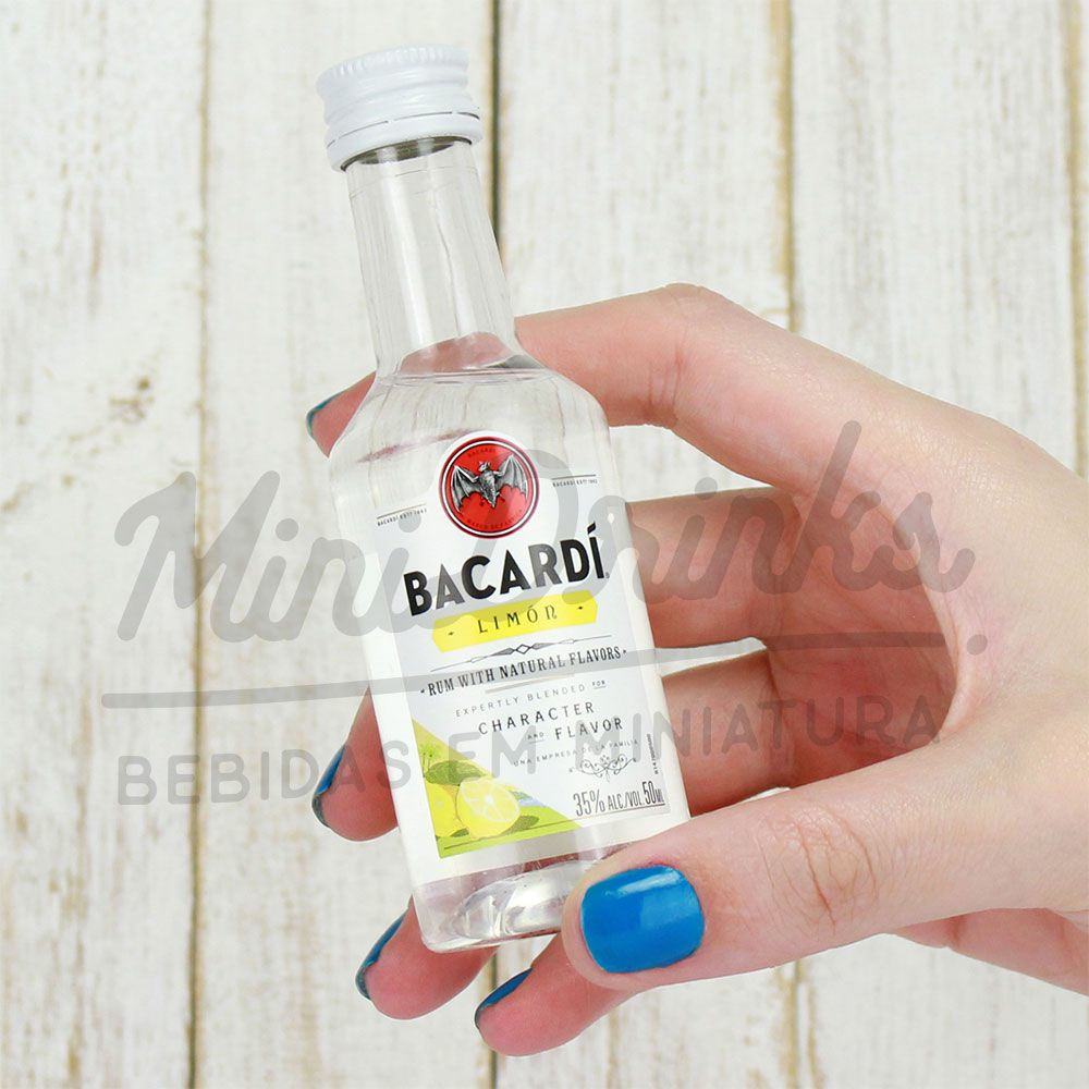 Mini Rum Bacardi Limon 50ml