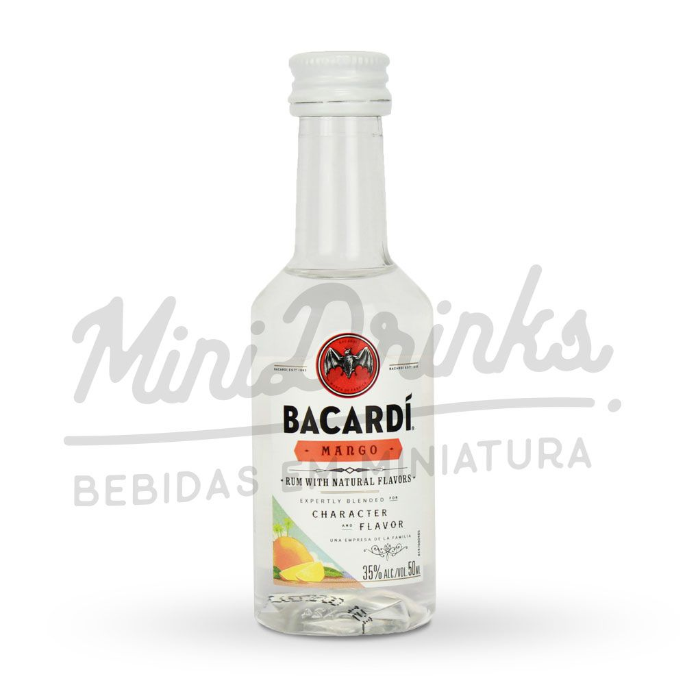 Mini Rum Bacardi Mango 50ml