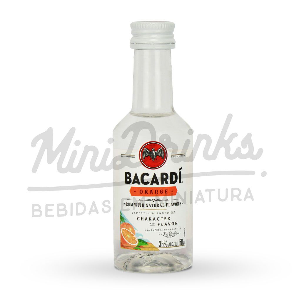 Mini Rum Bacardi Orange 50ml