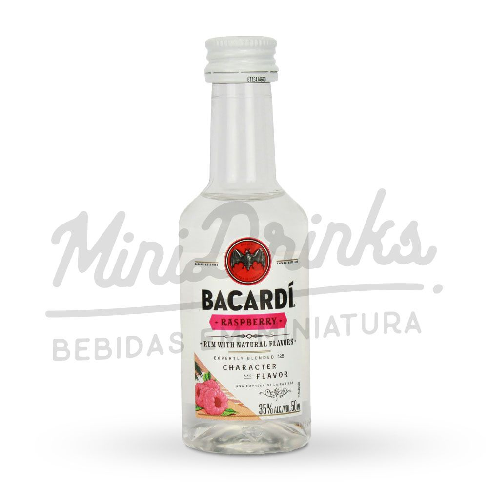 Mini Rum Bacardi Raspberry 50ml