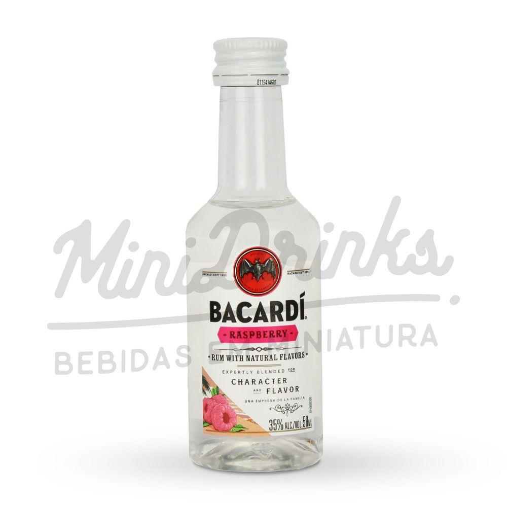 Mini Rum Bacardi Raspberry 50ml