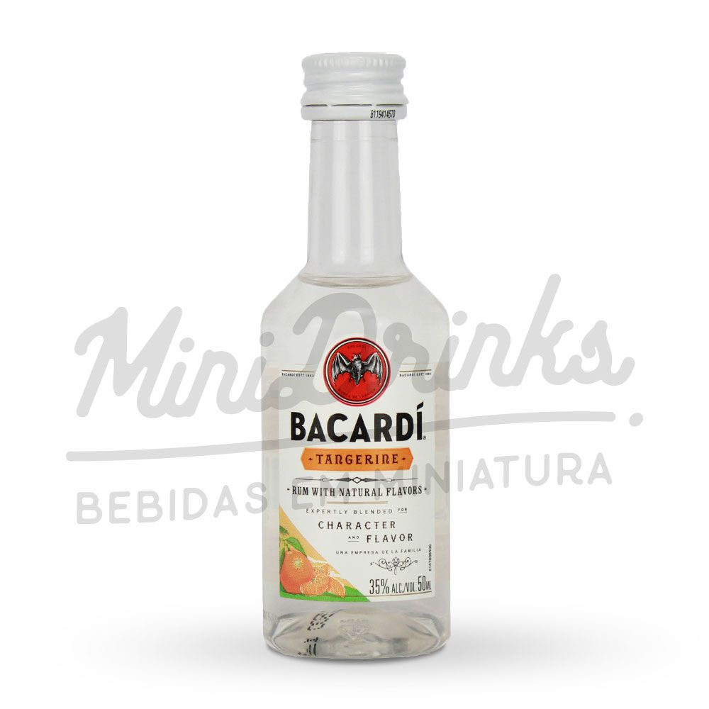 Mini Rum Bacardi Tangerine 50ml