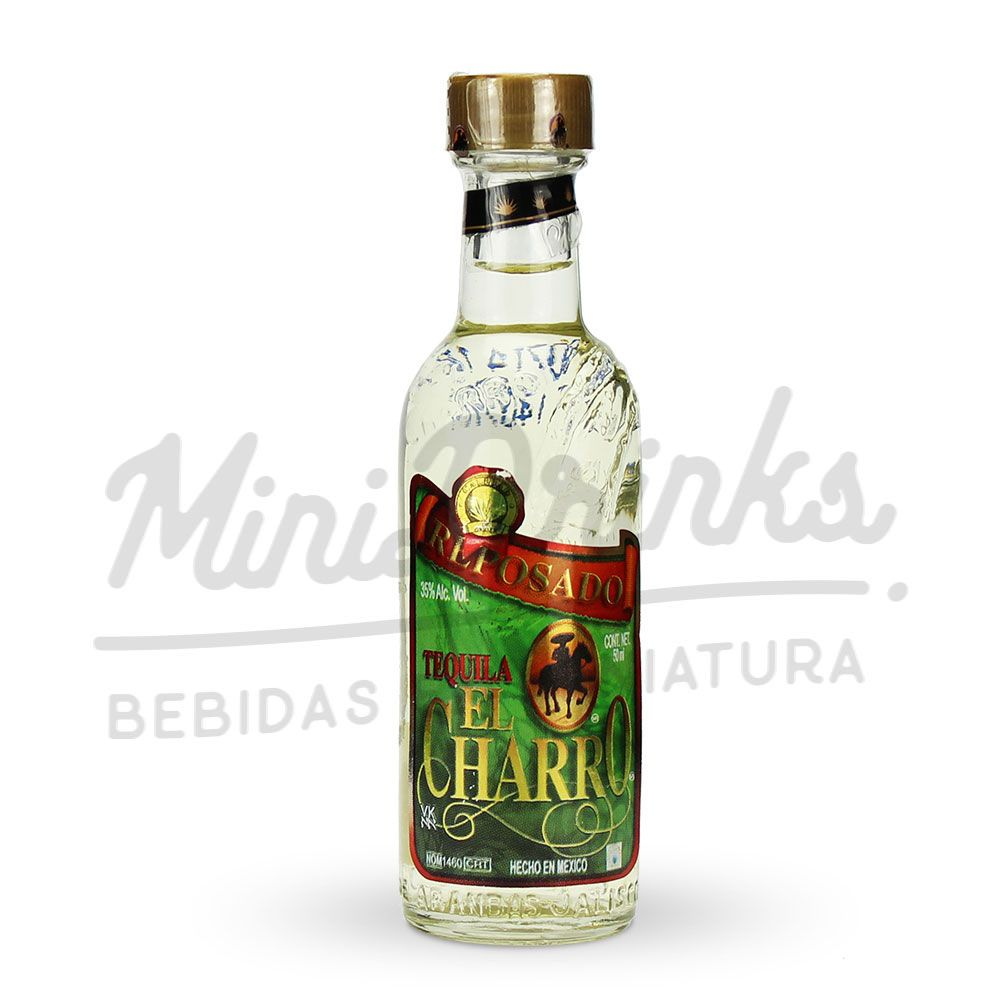 Mini Tequila El Charro Reposado 50ml