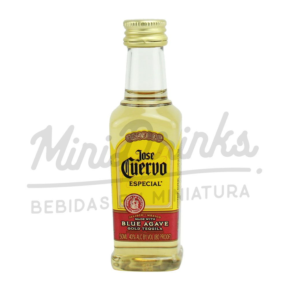 Mini Tequila Jose Cuervo Gold 50ml
