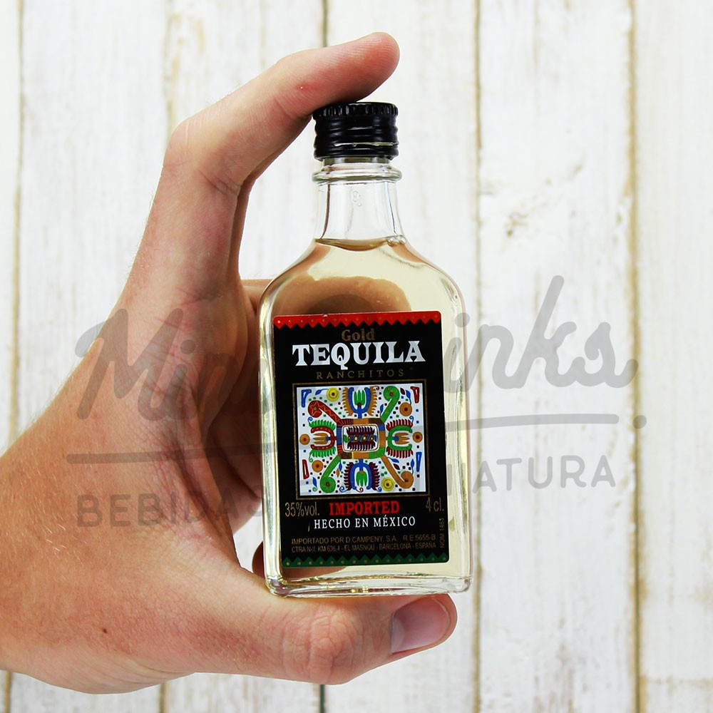 Mini Tequila Ranchitos Gold 50ml